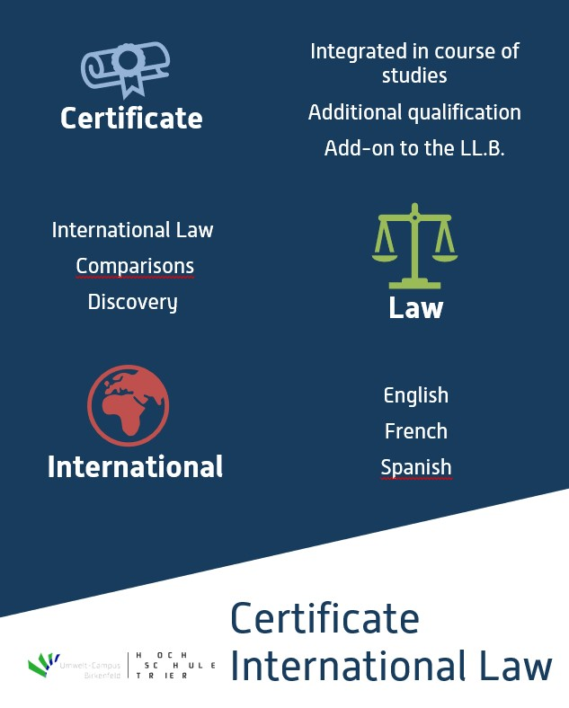 Certificate International Law